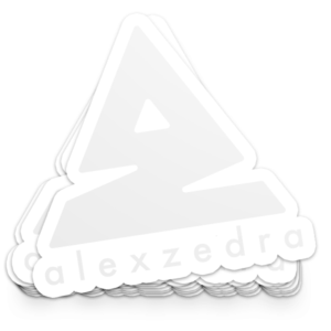 Icon Sticker – White