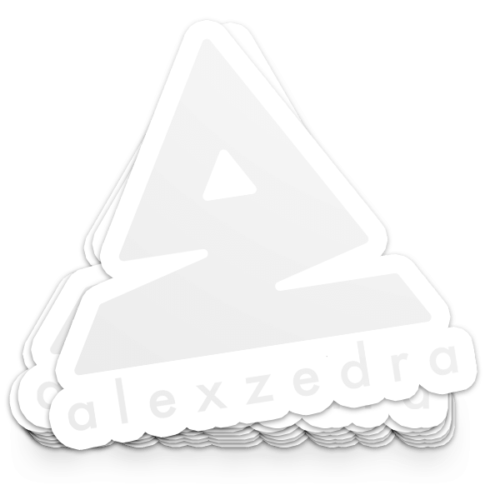 Icon Sticker – White