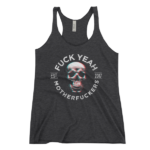 FYMFS Women's Tank Charcoal-Black Triblend