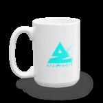 Splat Mug – Blue 15oz