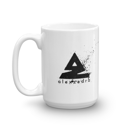 Splat Mug – Black (R) 15oz
