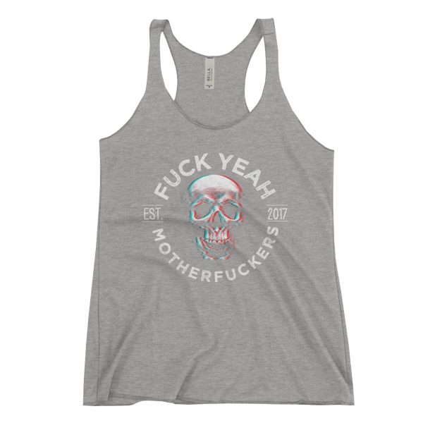 FYMFS Women's Tank Grey Triblend