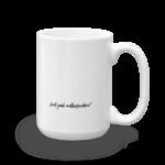 Splat Mug – Black (R) 15oz Back