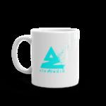 Splat Mug – Blue 11oz