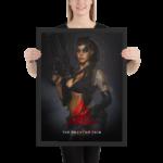 MGSV Quiet Framed Poster